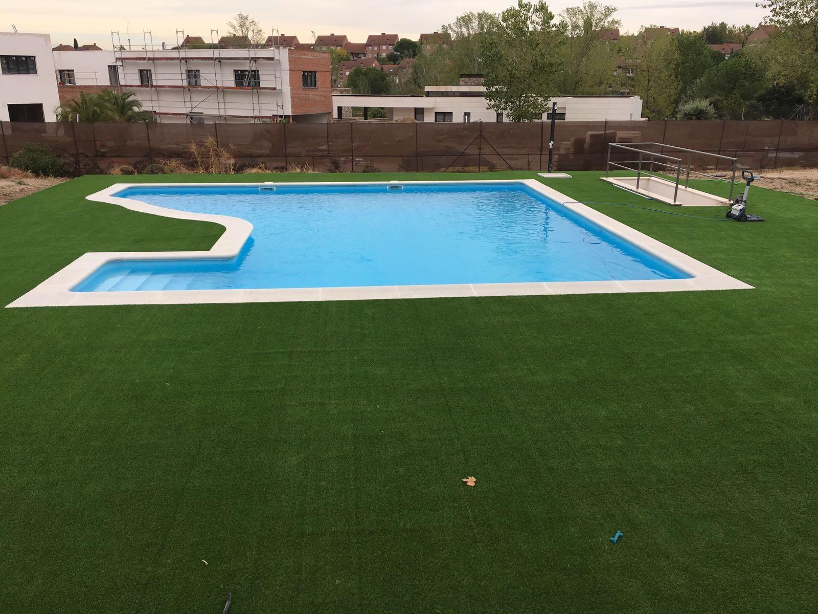Piedras de piscina en Toledo