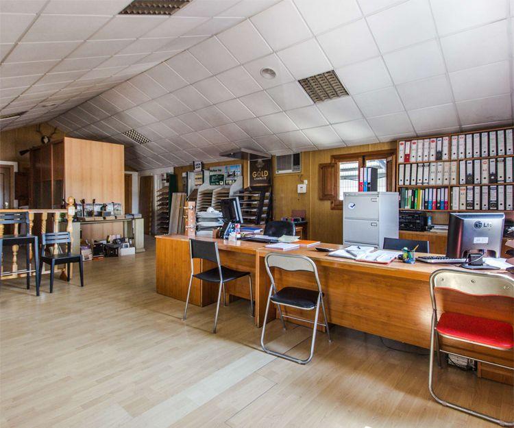 Oficina de nuestra carpintería y ebanistería en Cáceres