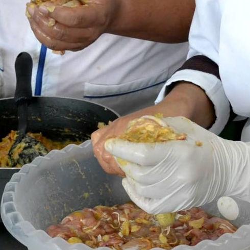 Muslos rellenos: Productos de Carnisseries Miró
