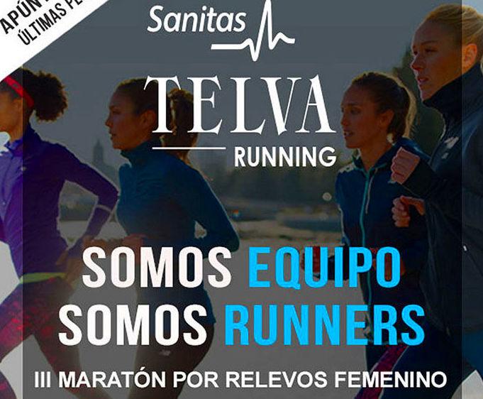 Inscríbete ya a la Sanitas TELVA Running 2017