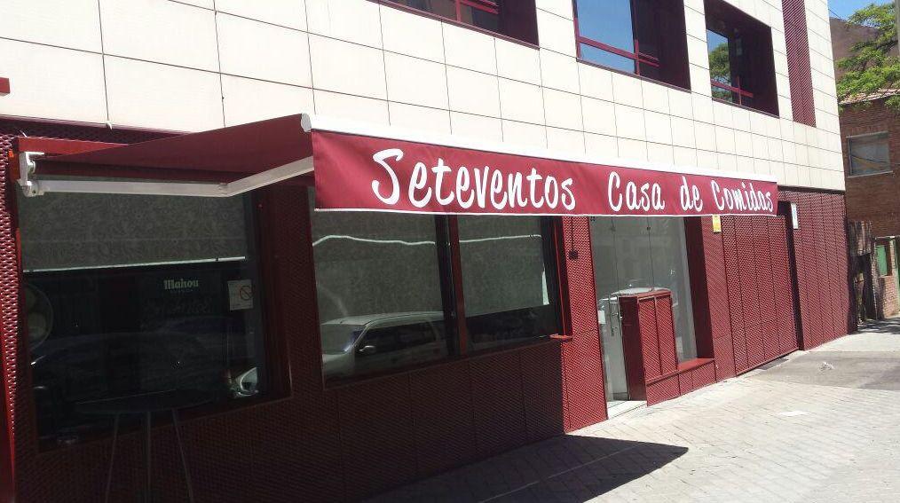 Toldos para terrazas de bares y restaurantes productos de for Articulos para restaurantes