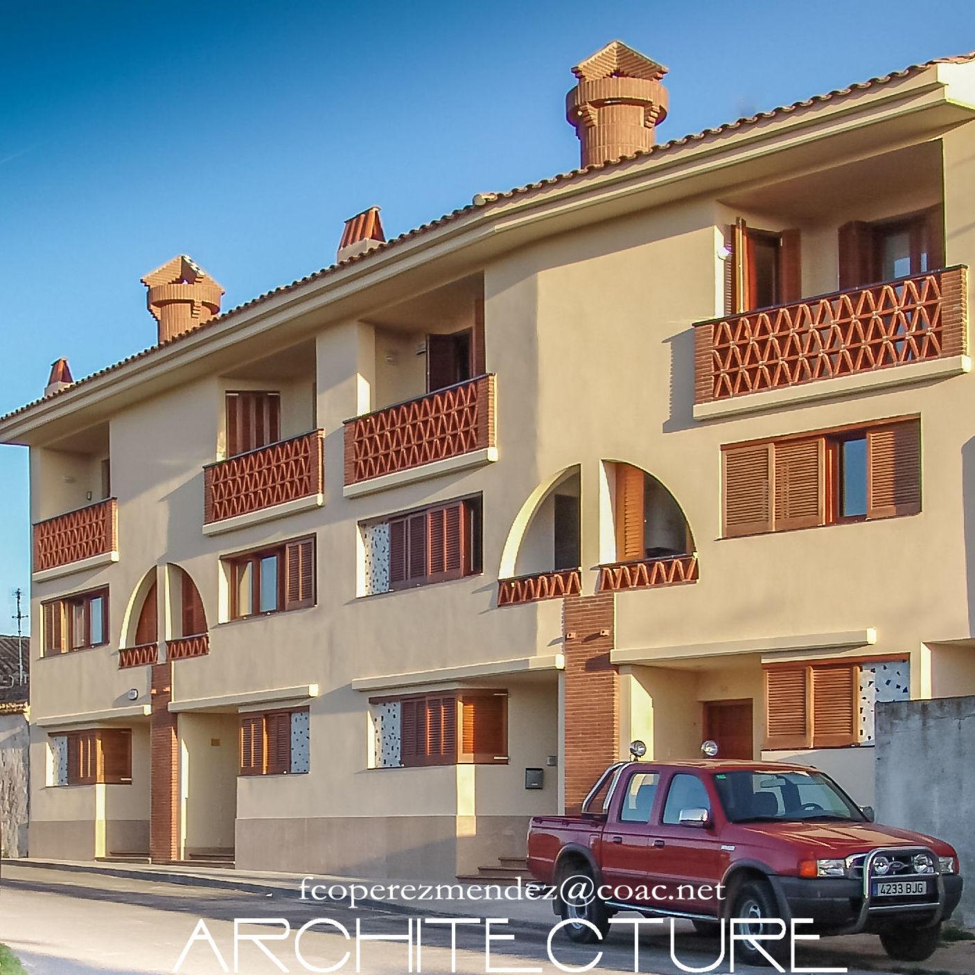 Conjunto de viviendas en Caso Antiguo de Sant Pere de Ribes FPM arquitectura