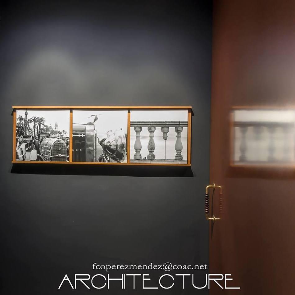 Especialistas en fotografía arquitectónica en SITGES. Hall Oficina Estudio FPMARQUITECTURA