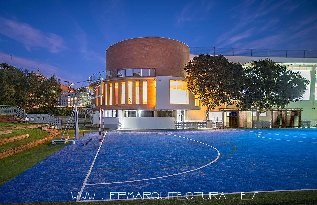 The British School Barcelona BSB  Architectsitges.com: Proyectos  architectsitges.com de FPM Arquitectura