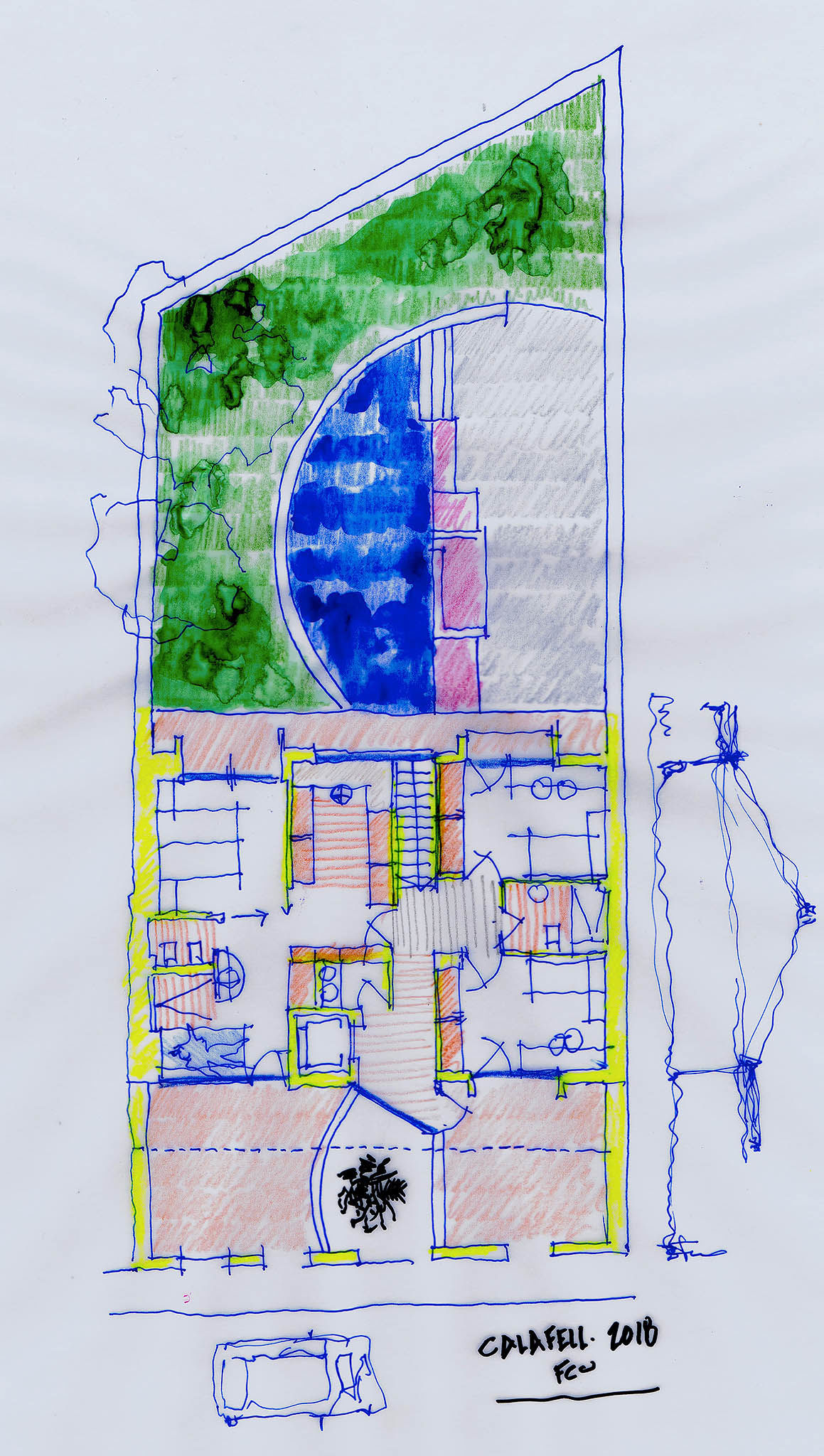 Single house     Calafell    Tarragona    FPMarquitectura