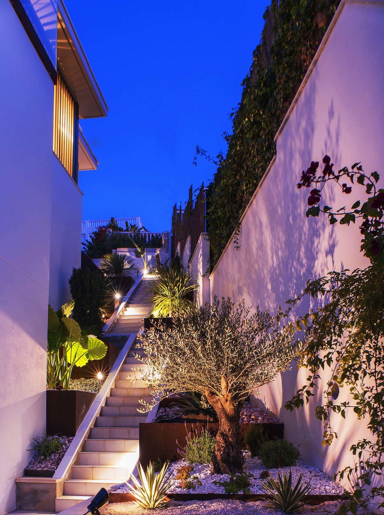 Jardin  Vivienda Unifamiliar.   Vallpineda   Sitgs Barcelona   FPMarquitectos