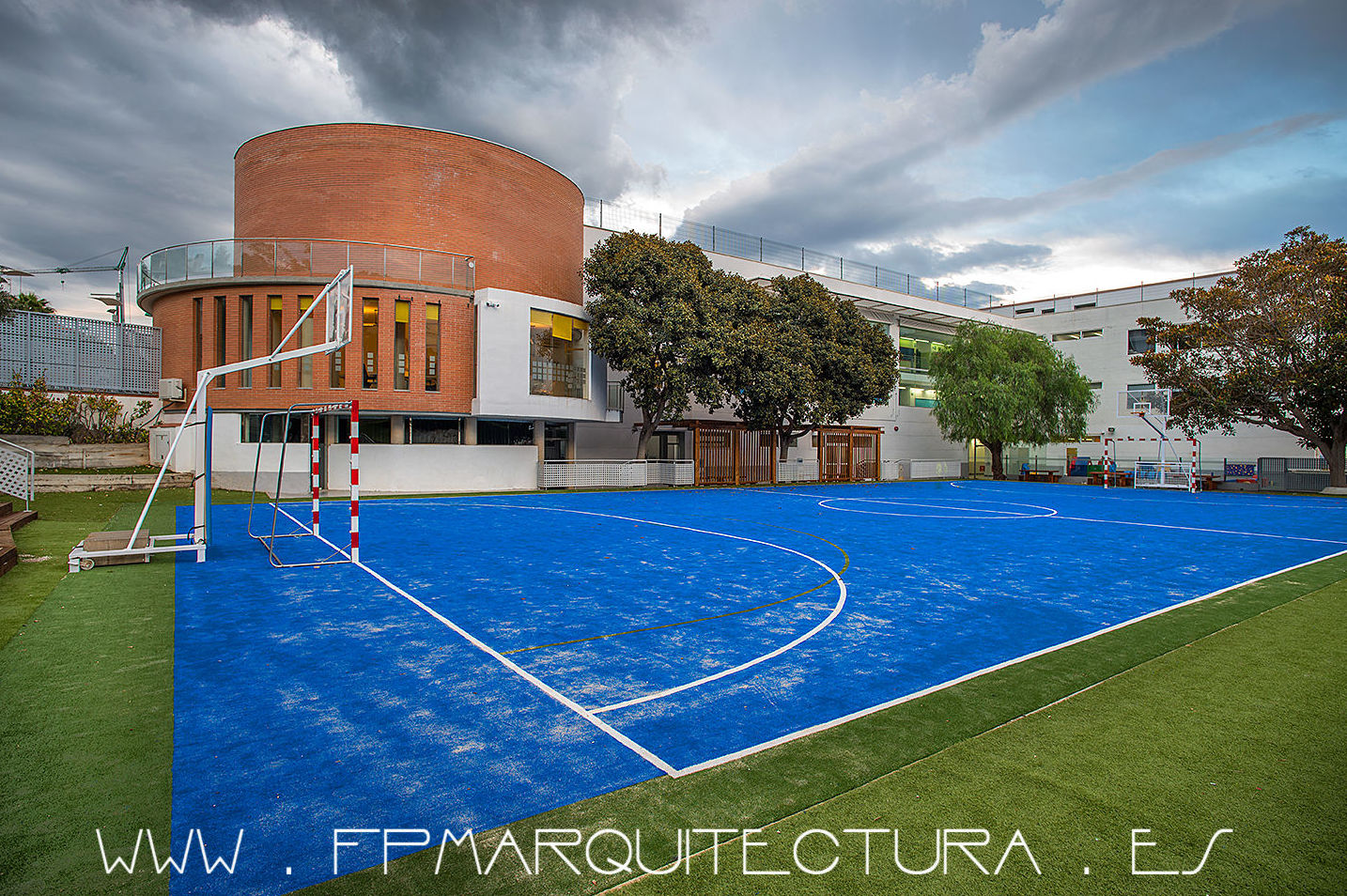The British School Barcelona Sitges.  FPMARQUITECTURA