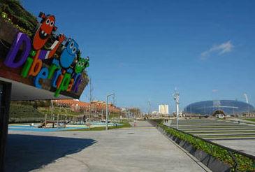 Parque infantil en Cantabria