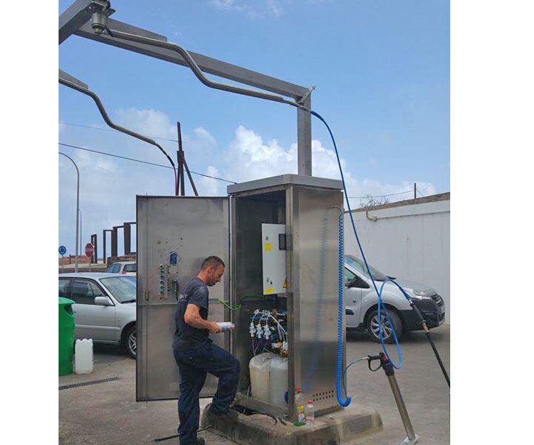 Técnicos para la reparación de máquinas de lavado