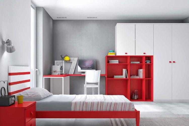 Muebles con distintos colores