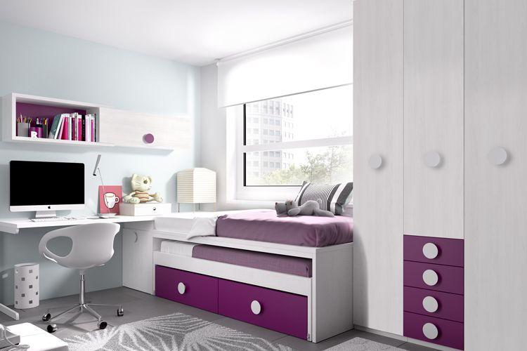 Mobiliario para habitación juvenil