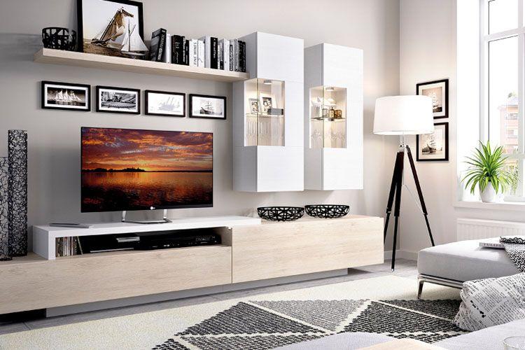 Viste tu salón con los mejores muebles