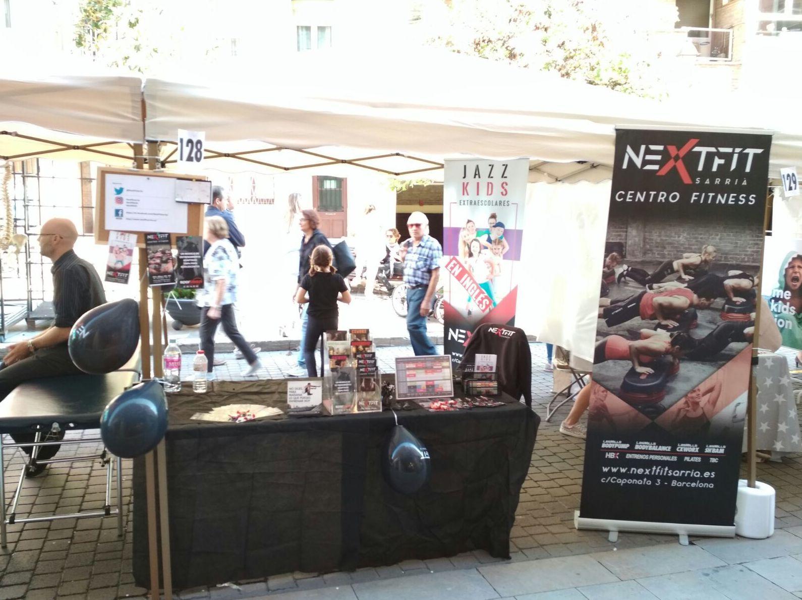 Nextfit a Fira del Comerç de Sarrià