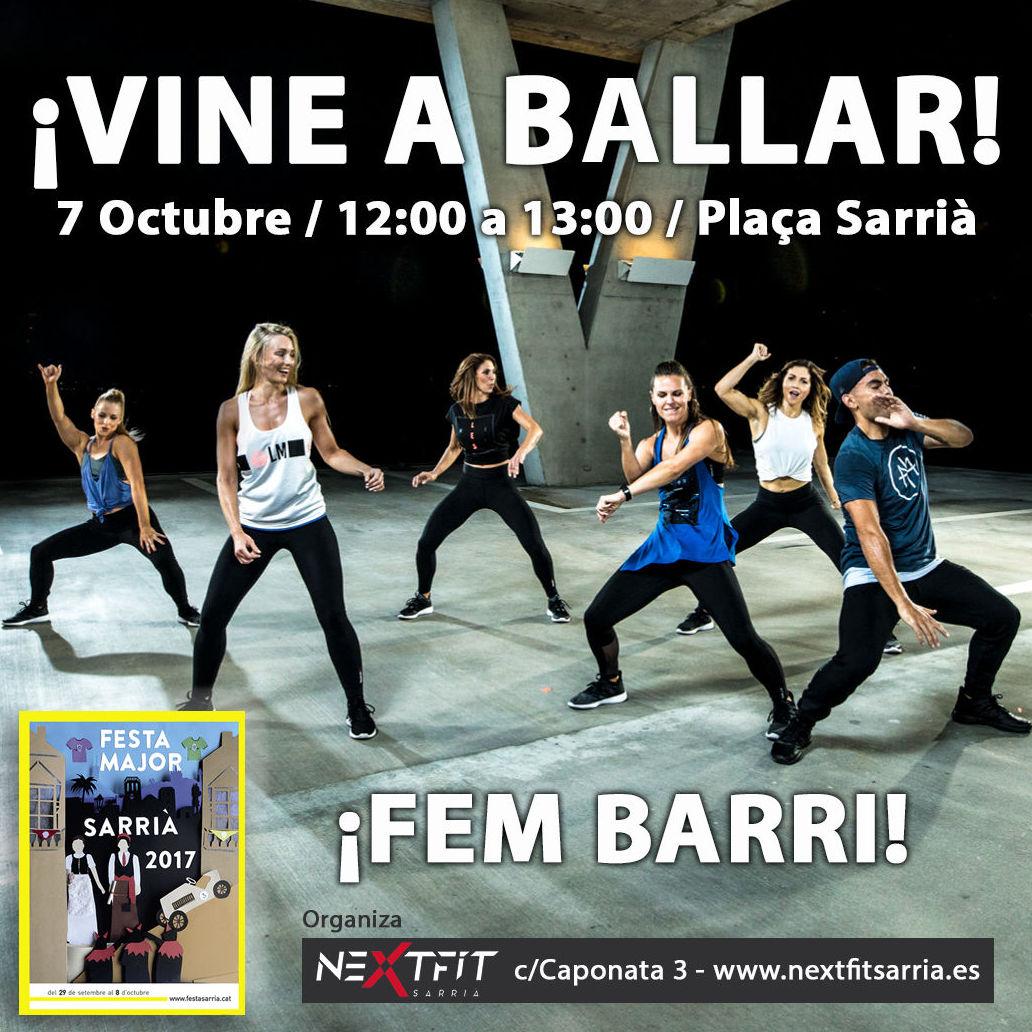 VINE A BALLAR A LA FESTA MAJOR DE SARRIÀ / 7 OCTUBRE
