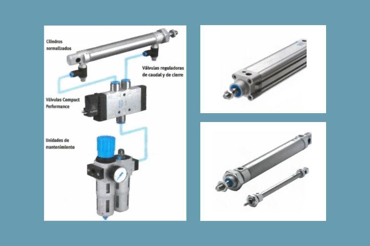 Distribuidores de cilindros neumáticos