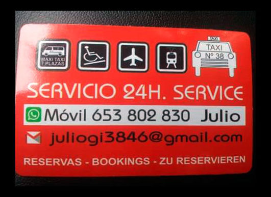 Taxi 24 hours in Torrevieja