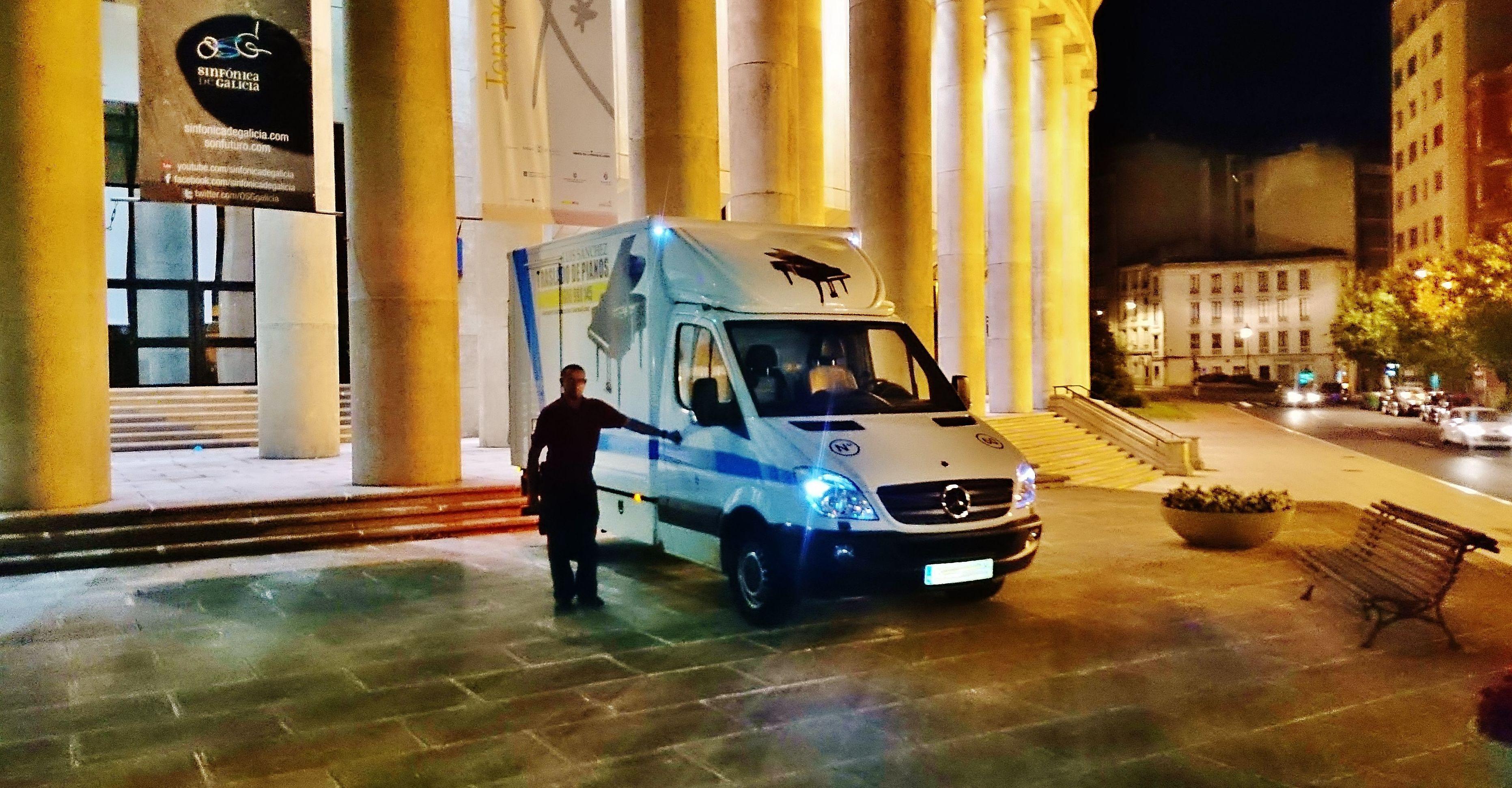 transporte de pianos Santiago de Compostela