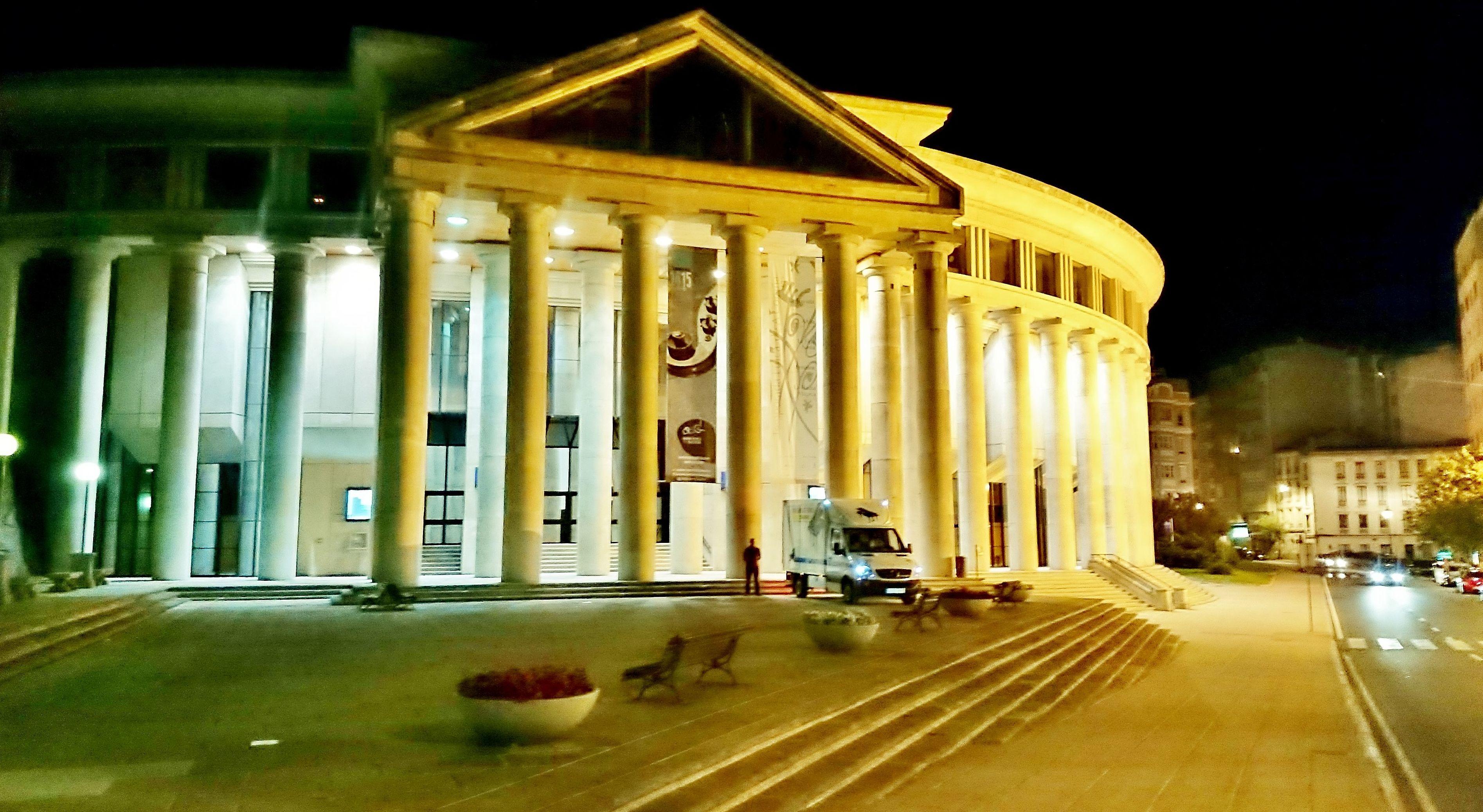 Palacio de la Ópera. Coruña