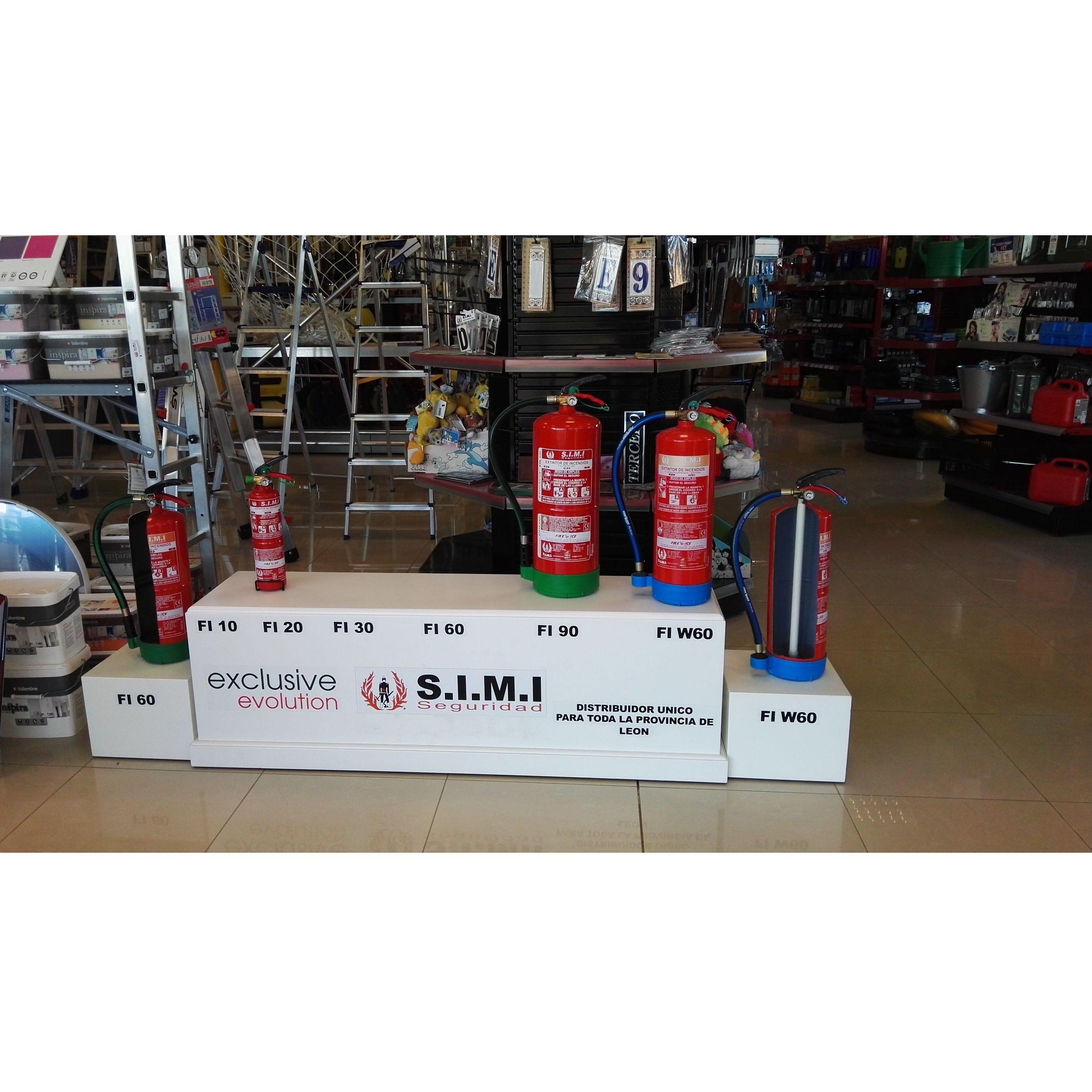 Extintores y recargas: Productos y Servicios de S.I.M.I. Seguridad