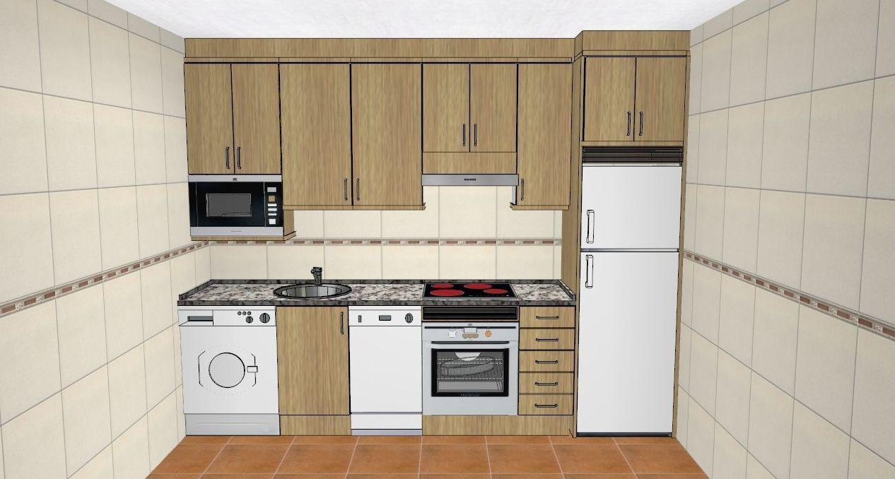 Cocinas de diseño a medida en Plasencia, Cáceres