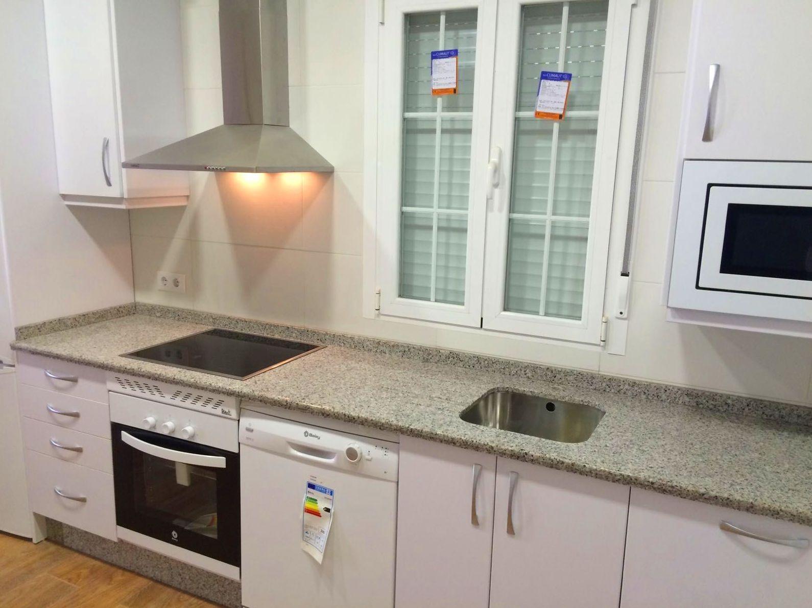 Muebles de cocina y electrodomésticos en Plasencia, Cáceres