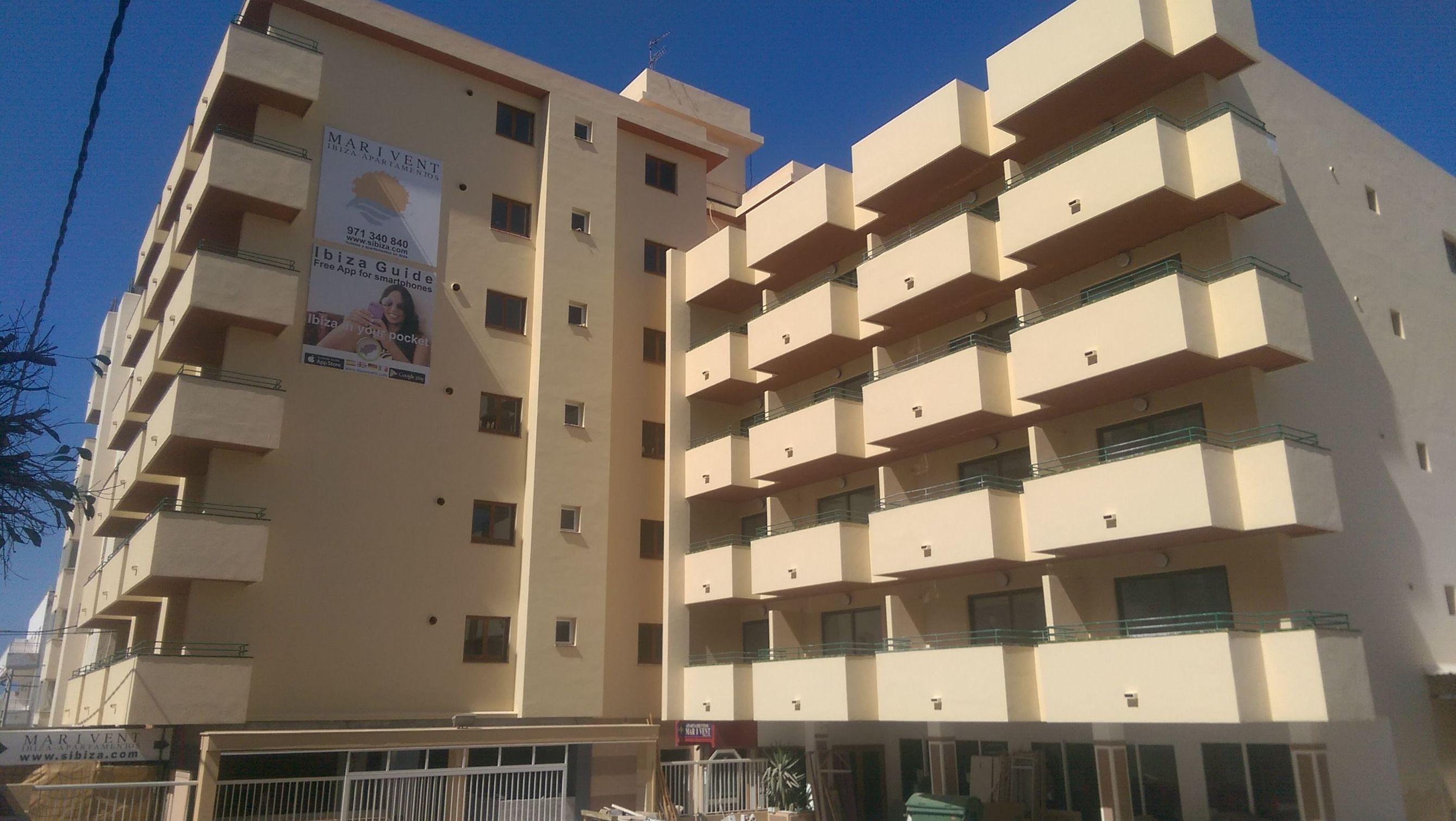 hotel Mar y Vent , rehabilitacion de fachadad e interiores