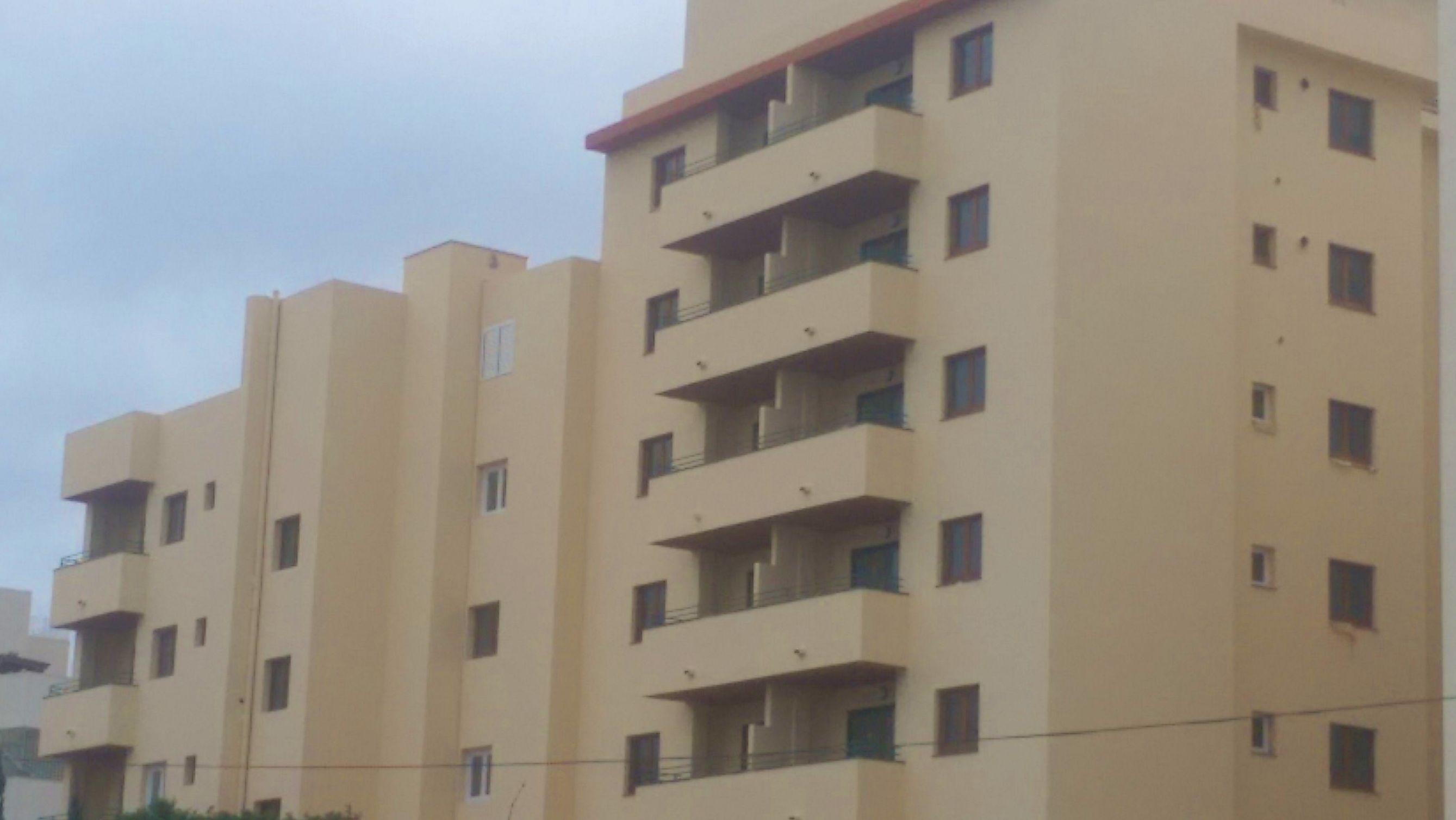 fachadas traseras apartamentos Mar Y Vent