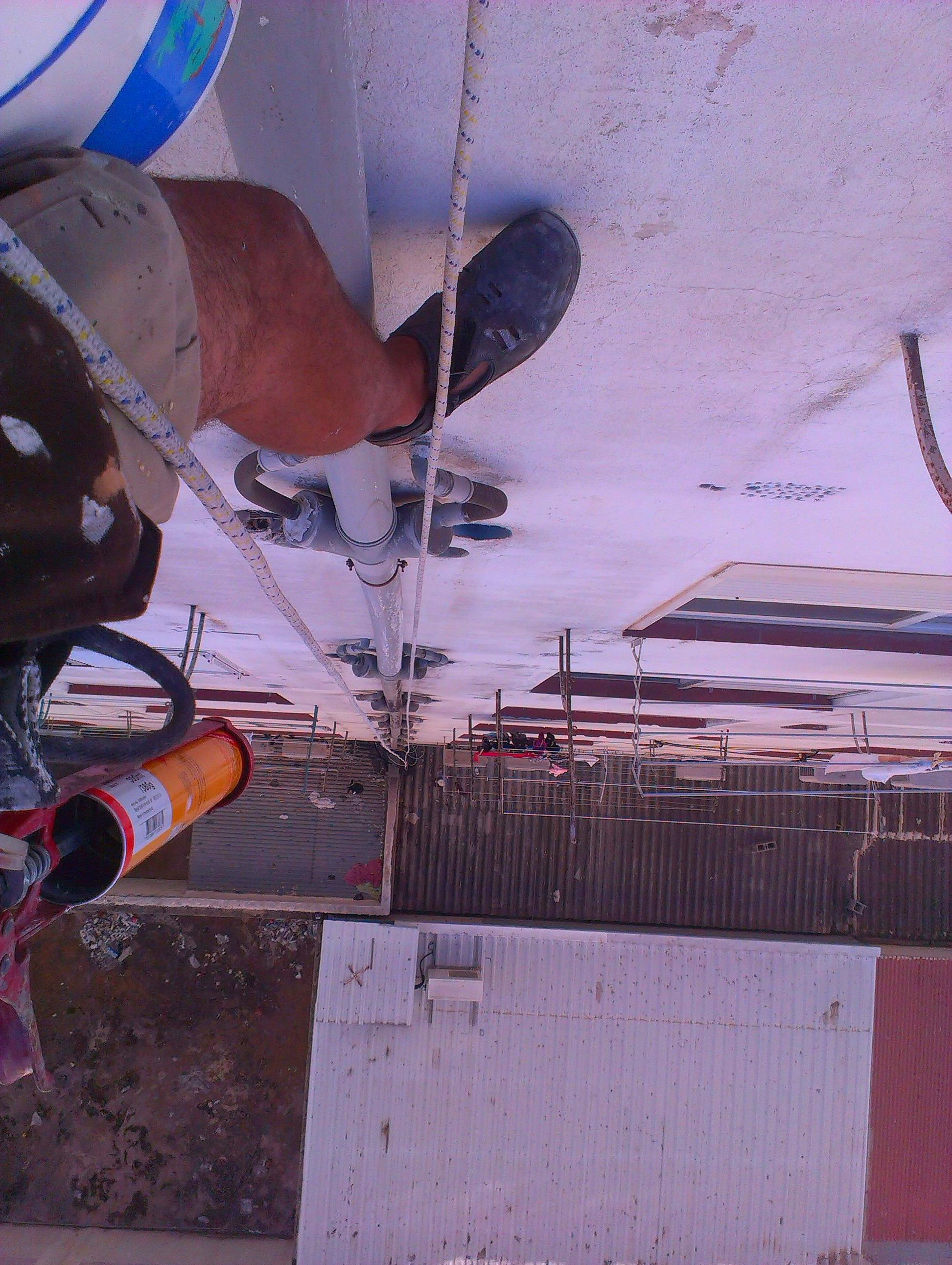 instalacion de rejillas  de ventilacion