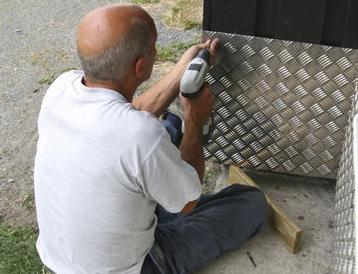 Cerramientos de hierro y aluminio