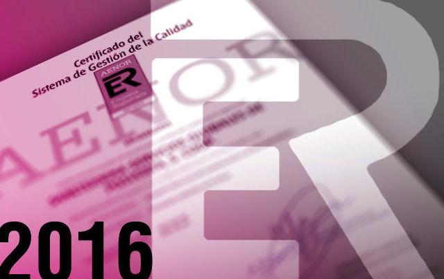 Sareteknika renueva en 2016 la ISO 9001 y se confirma como la única red de asistencia técnica homolo