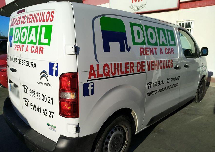 Presupuestos de alquiler de vehículos en Murcia