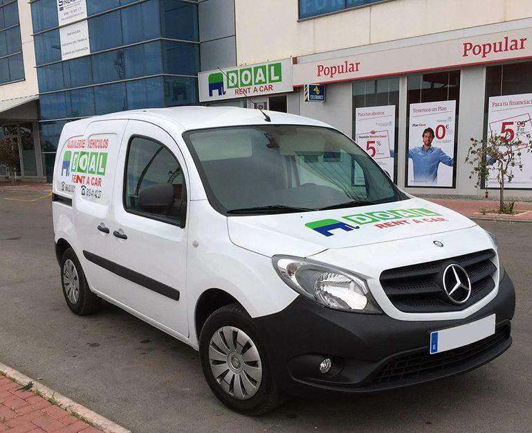 Alquiler de vehículos con la mejor relación calidad precio en Murcia