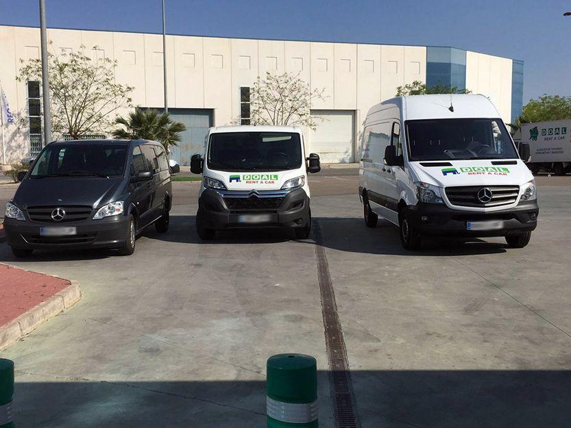 Alquiler de vehículos en Molina de Segura