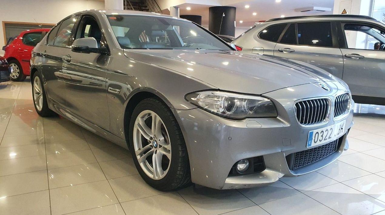 BMW 520d PAQUETE M EXTERIOR E INTERIOR!! ¡¡IMPECABLE!!: Compra venta de coches de CODIGOCAR