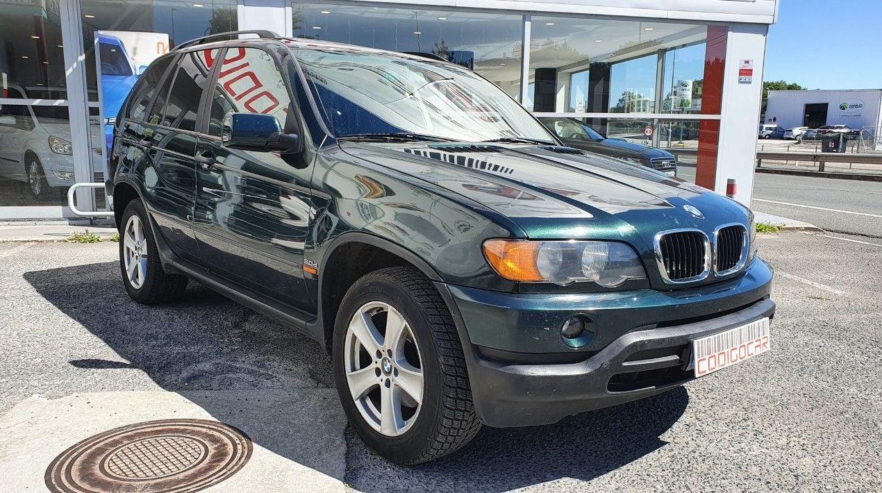 BMW X5 3.0D AUTOMATICO CON ENGANCHE DE REMOLQUE: Compra venta de coches de CODIGOCAR