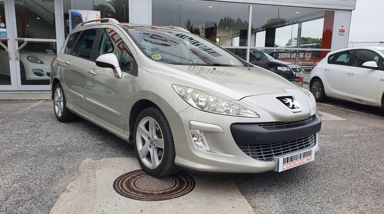 PEUGEOT 308 SW 1.6HDI CON TECHO PANORAMICO ¡¡138000KM!!: Compra venta de coches de CODIGOCAR