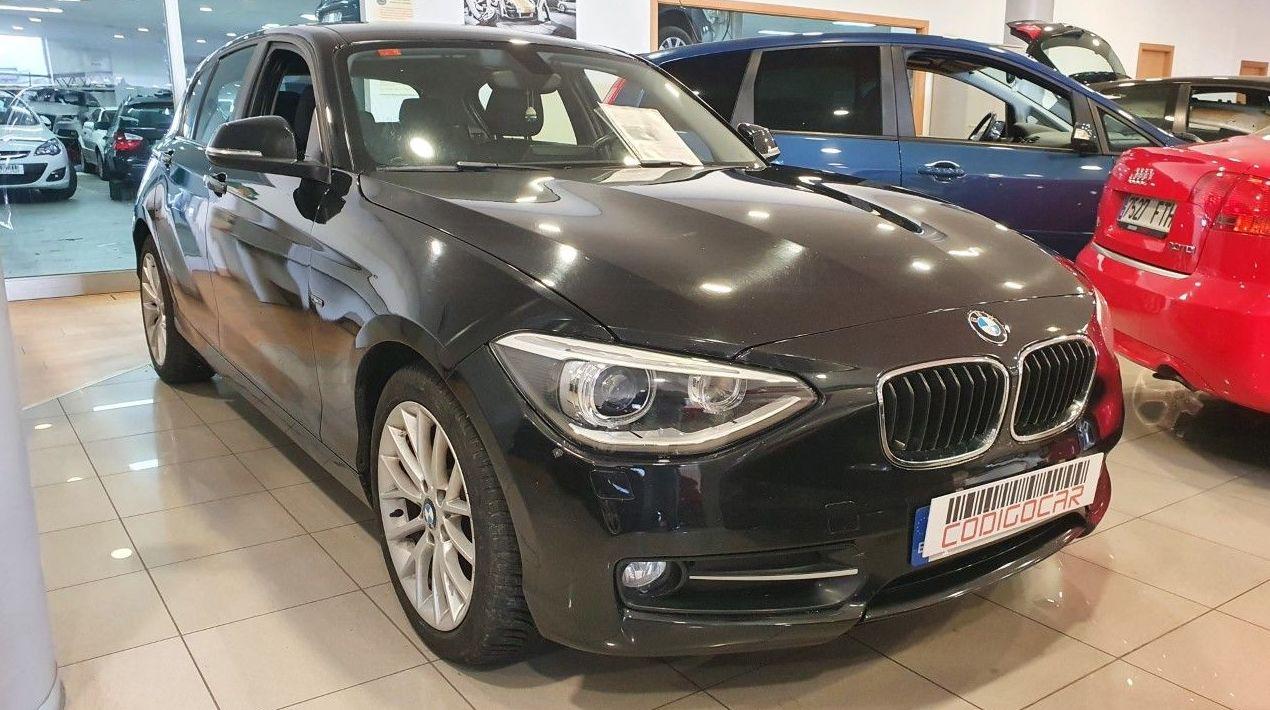 BMW 116D SPORT INTERIOR Y EXTERIOR  ¡¡IMPECABLE!!:  de CODIGOCAR
