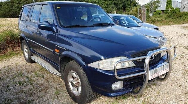 SSANGYONG MUSSO 2.9TD CON ENGANCHE DE REMOLQUE: Compra venta de coches de CODIGOCAR