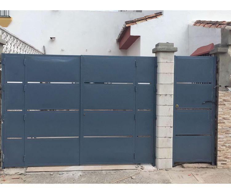 Puertas de acceso en Algeciras