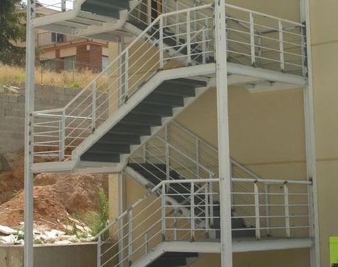 Fabricación de escaleras metálicas