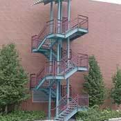 Escaleras metálicas construidas a medida