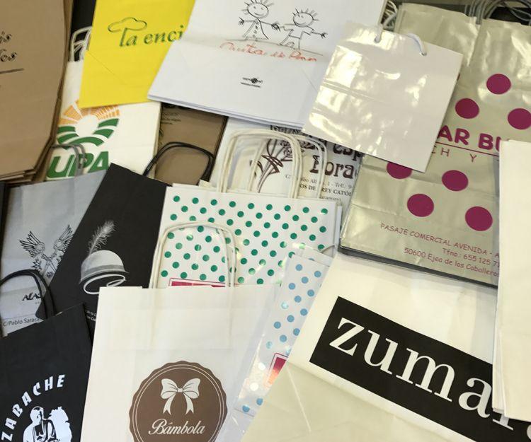 Bolsas serigrafiadas en Zaragoza