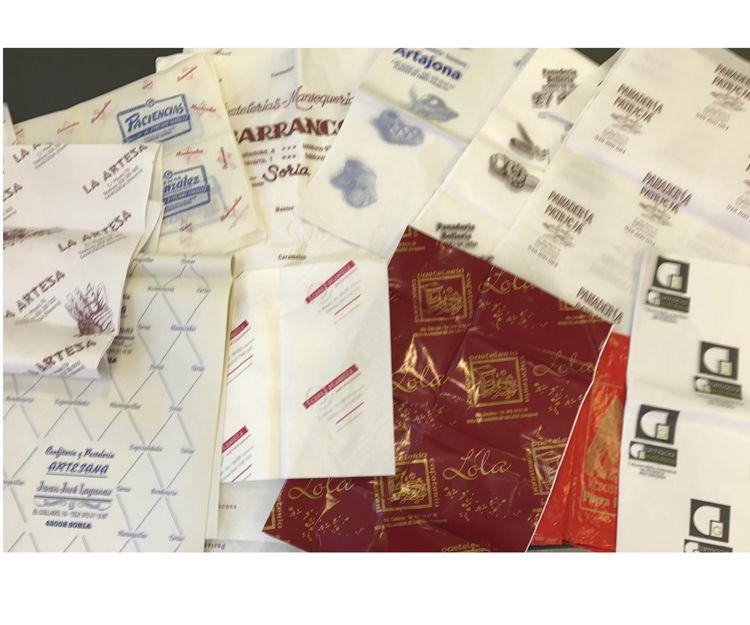 Bolsas de diversos materiales