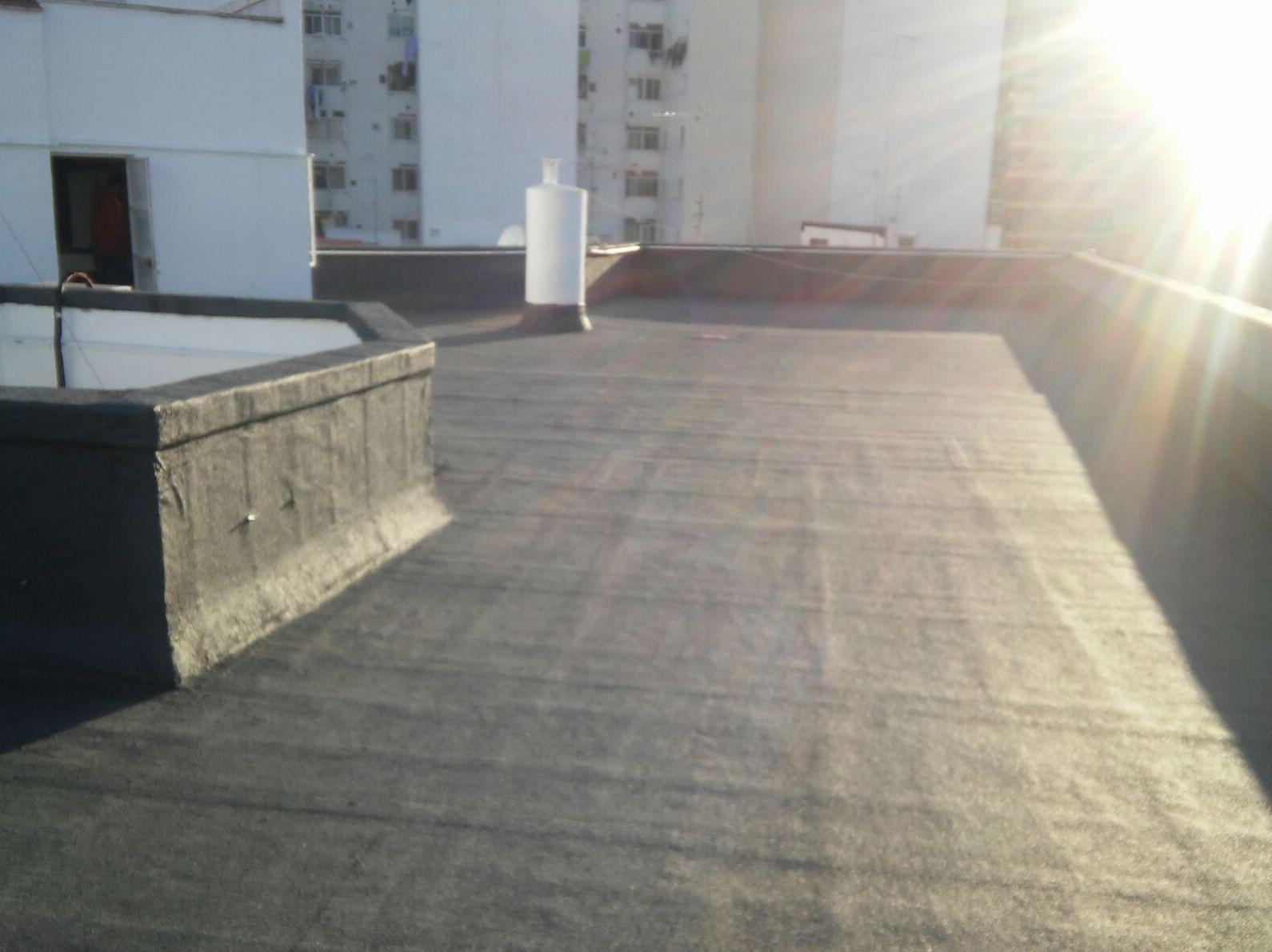 Impermeabilizacion bicapa en terraza comunidad