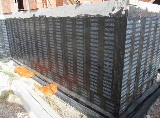 Impermeabilización muros enterrados