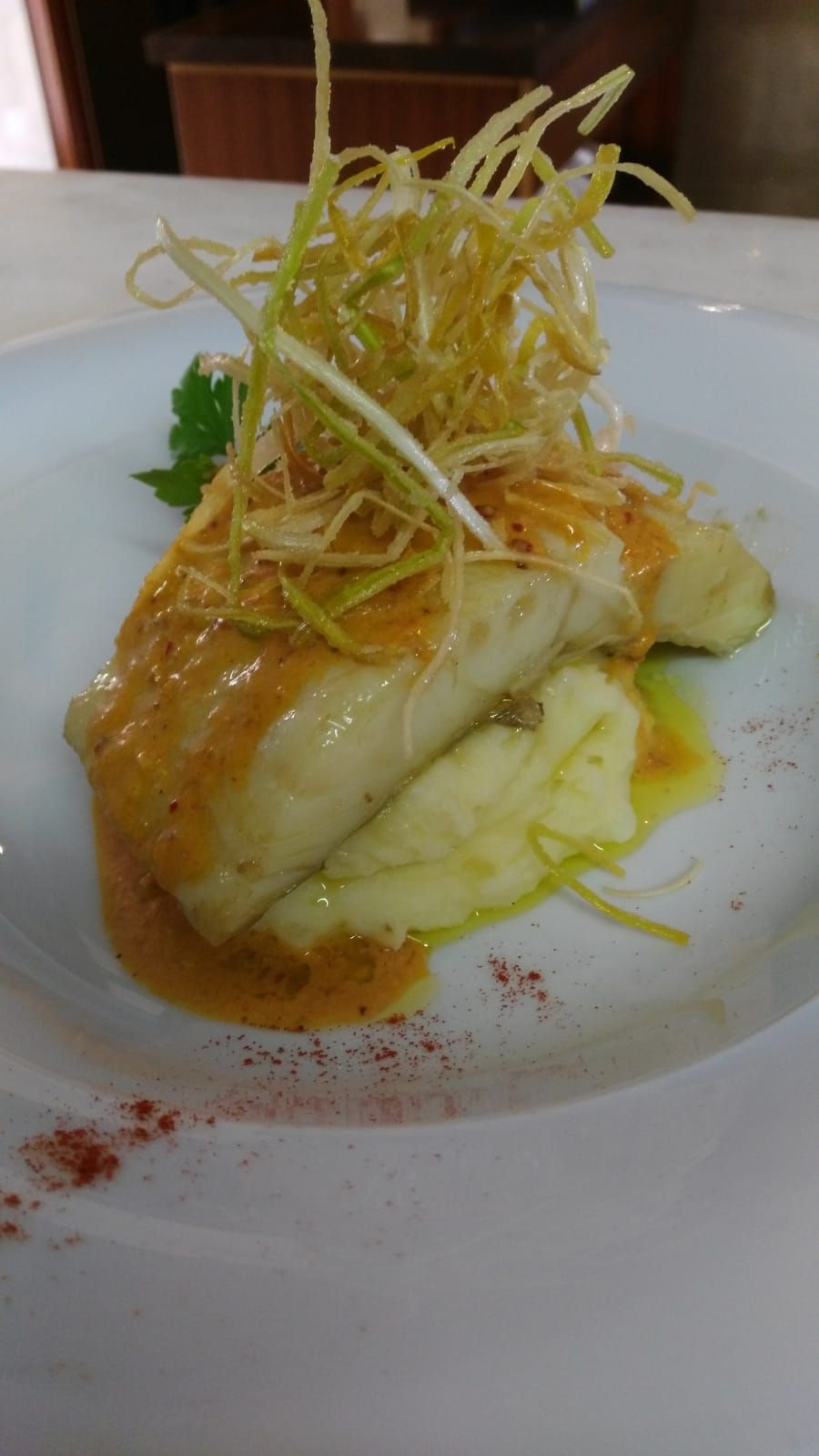 Restaurante con pescado frecso en Salou