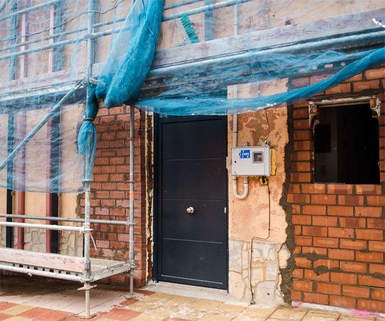 Construcción de viviendas unifamiliares en León