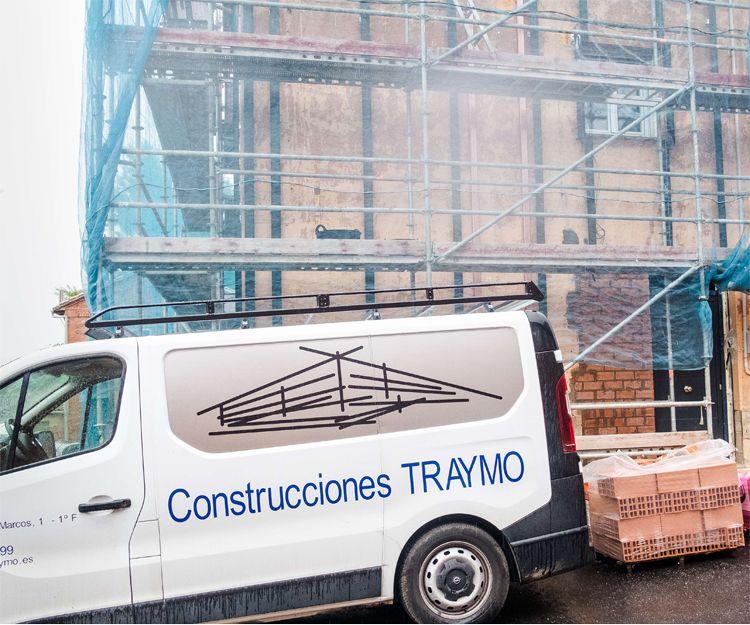 Trabajos de construcción en León