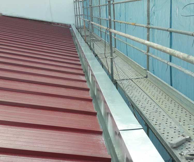 Rehabilitación de cubiertas en León