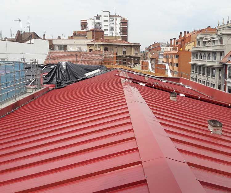 Reforma de tejados en León